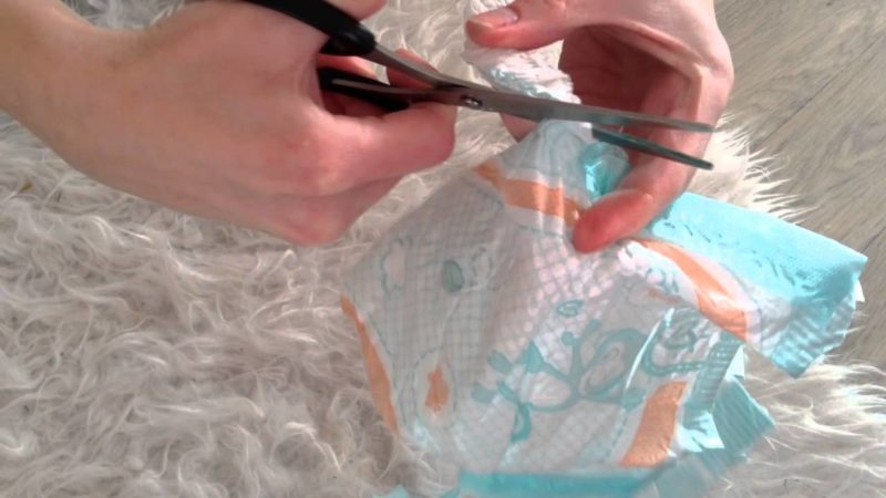 как сделать памперсы своими руками